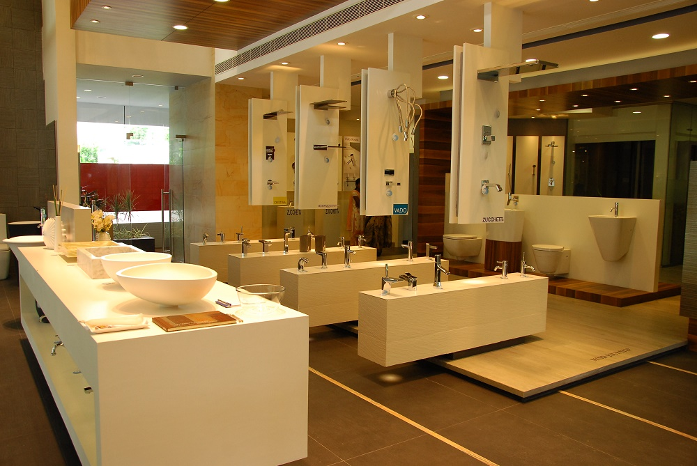 Bathroom Designs Showroom At Jubilee Hills Hyderabad