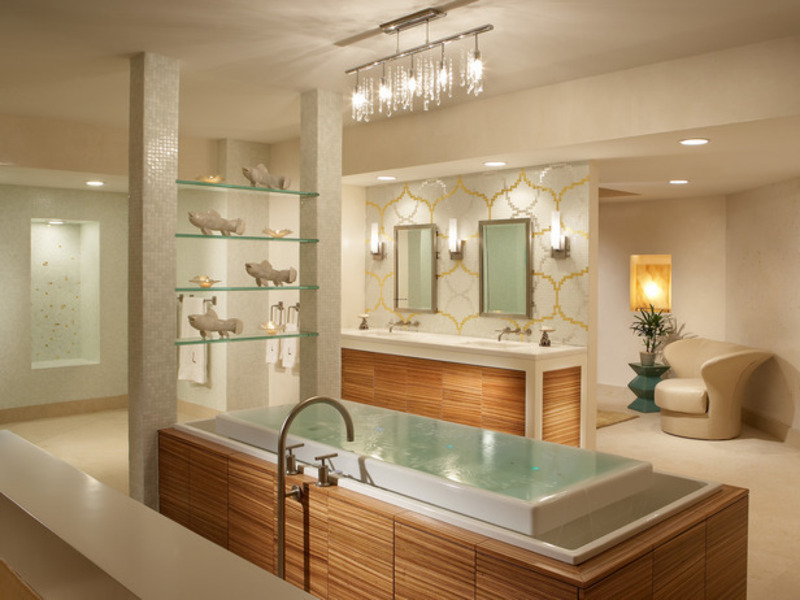 How To Create A Hotel Bathroom Spa Experience at Home