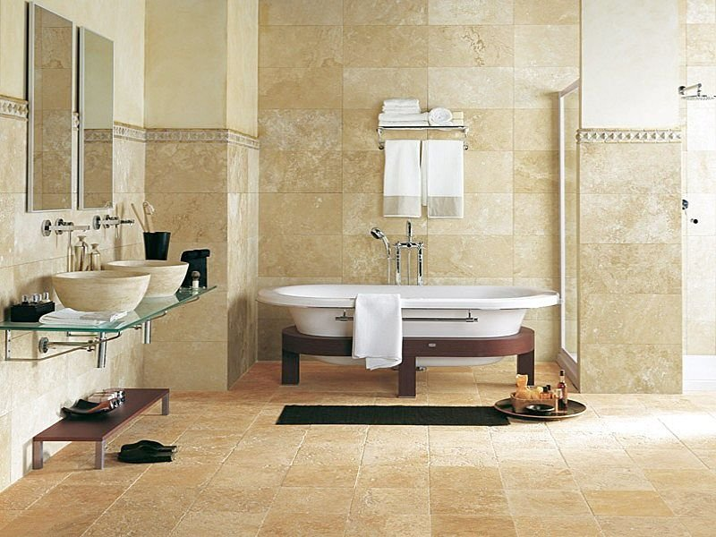 Advantages Of Natural Stone Bathroom Tiles