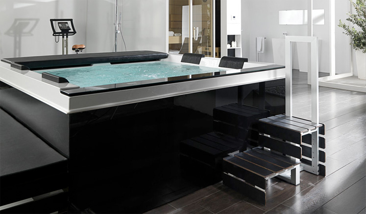 to customise your jacuzzi bath or hot tub to suit your specific needs   Our range of stunning baths and systems provides the ultimate bathing  experience. Jacuzzi Bath And Spa Showroom at Jubilee Hills  Hyderabad