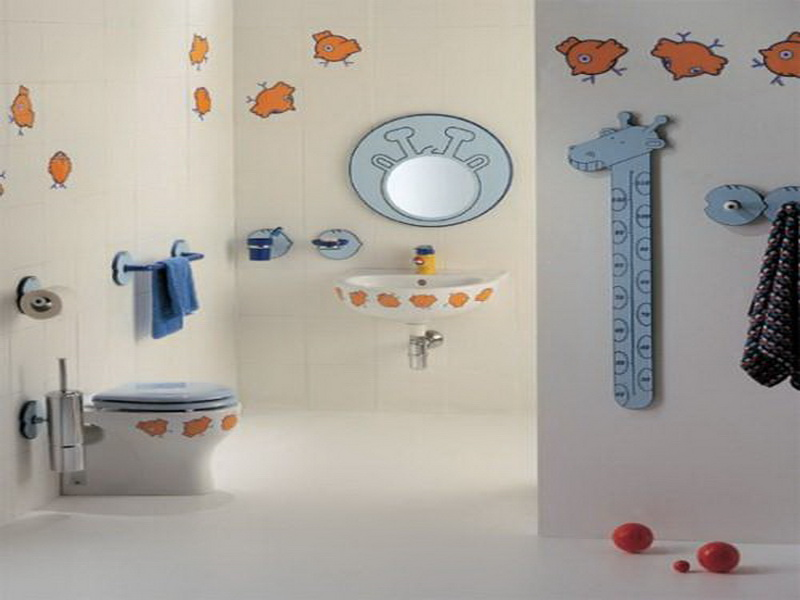how to decorate a kids bathroom give your a bathroom they will 25376