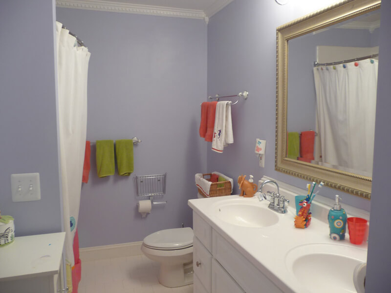 Child safety tips for your bathroom for Children s bathroom designs